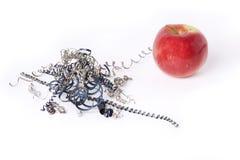 источник утюга яблока Стоковые Изображения RF