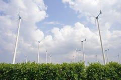 Источник энергии ветротурбины Стоковое фото RF