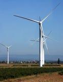 Источник электричества энергии ветра Стоковое фото RF