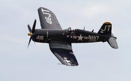 Истребительная авиация корсара Второй Мировой Войны Стоковые Фото