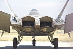 Истребительная авиация хищника Lockheed Martin F-22 тактическая Стоковые Фото