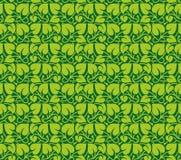 листья делают по образцу безшовный вектор Иллюстрация штока