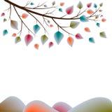 листья осени цветастые Стоковая Фотография