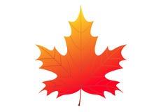 листья падения предпосылки осени искусства цифровые Стоковая Фотография