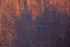 лист металла ржавый Стоковые Фотографии RF