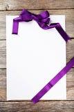 лист пустой бумаги Стоковые Изображения RF