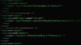 Исходный код привел 02 Стоковые Изображения RF