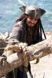 исчезая пират стоковые фото