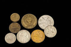 Исчезли рублевка соединения монетк-Совета Стоковые Фото