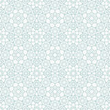Исламская безшовная картина Стоковая Фотография