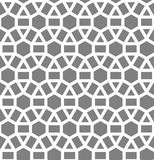 Исламская воодушевленная безшовная картина Стоковое Изображение
