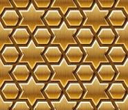 Исламская деревянная предпосылка картины иллюстрация вектора