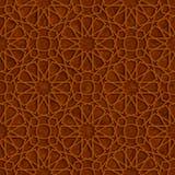 Исламская картина звезды с предпосылкой Grunge Брайна иллюстрация штока