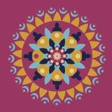 Исламская круговая картина Стоковые Изображения RF