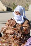 Исламская культура - Burqa Стоковое Фото