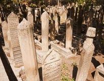 Исламские надгробные плиты Стоковые Фото