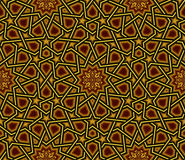 Исламские обои картины, золотых & черных бесплатная иллюстрация