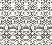 Исламский воодушевленный безшовный вектор картины Стоковое фото RF