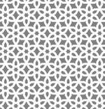 Исламский воодушевленный безшовный вектор картины Стоковые Изображения