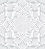 Исламский купол внутри светлой предпосылки иллюстрация штока
