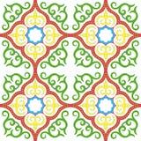Исламский мотив цветочного узора Стоковые Фотографии RF