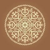 Исламский цветочный узор Стоковое Изображение RF