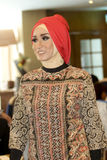 Исламское платье Стоковая Фотография