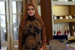 Исламское платье Стоковое Изображение