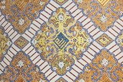 Исламское украшение мозаики Стоковая Фотография