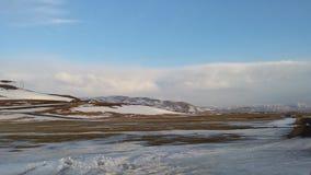 Исландская весна Стоковые Изображения