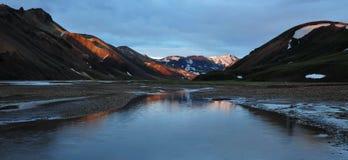 Исландская долина Стоковое фото RF