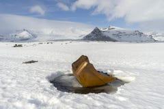 Исландские взгляды - зима стоковое фото rf