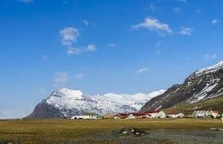 Исландские взгляды стоковое изображение