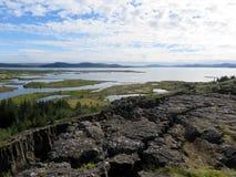 Исландский архипелаг Стоковые Изображения RF