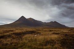 Исландский вулкан Стоковое фото RF