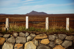 Исландский вулкан Стоковое Изображение