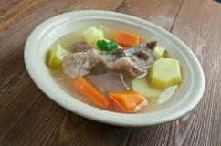 Исландский суп с мясом Стоковые Изображения