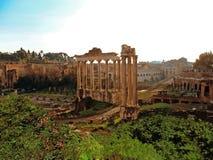 Италия, город Рима, римского форума Стоковая Фотография