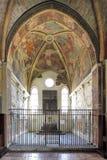 Италия - Ломбардия - милан - церковь Grazie delle Santa Maria с фреской тайной вечери Леонардо Да Винчи Стоковые Фото