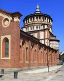 Италия - Ломбардия - милан - церковь Grazie delle Santa Maria Стоковые Фото