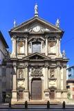 Италия - Ломбардия - милан - церковь Porta alla Santa Maria Стоковое Изображение RF