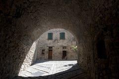 Италия марширует pennabilli montefeltro Стоковое Изображение