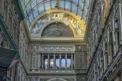 Италия, Неаполь, галерея 02,01,2018 из Umberto Стоковое Фото