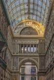 Италия, Неаполь, галерея 02,01,2018 из Umberto Стоковые Фотографии RF
