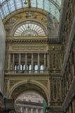 Италия, Неаполь, галерея 02,01,2018 из Umberto Стоковые Изображения RF