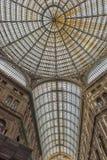 Италия, Неаполь, галерея 02,01,2018 из Umberto Стоковая Фотография RF