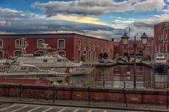 Италия, Неаполь, порт 02,01,2018 из Неаполь, Италии в Европе с Стоковое фото RF
