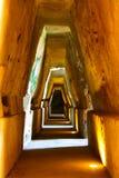 ИТАЛИЯ - НЕАПОЛЬ - archeologici di Cuma Scavi Стоковые Фотографии RF