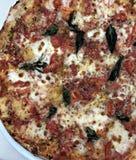 Италия: Особенная итальянская пицца Tramonti стоковое фото rf