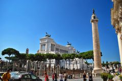 Аркада Venezia в Рим (Италия) стоковое фото